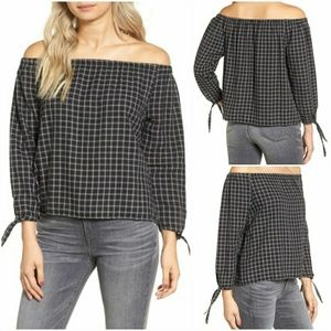 NWT Madewell Off The Shoulder Top